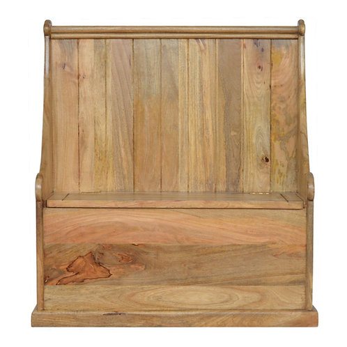 Granary Royale Solid Wood Monks Bench