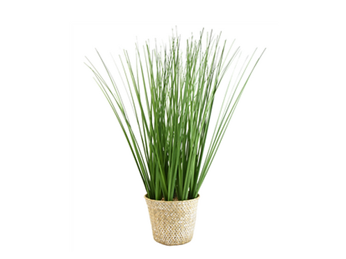 Tall Potted Artificial Grass