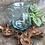 Thumbnail: Molten Glass on Wood - Water Jug