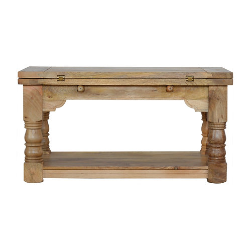 Granary Royale Trilogy Solid Wood Extendable Coffee Table