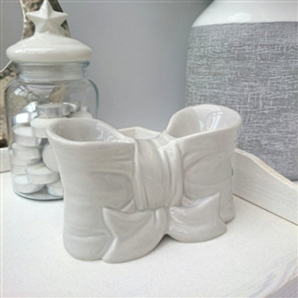Double Bow Ceramic Wax Melter Oil Burner