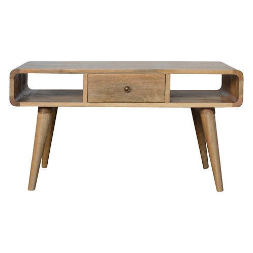Nordic Style Solid Wood Coffee Table