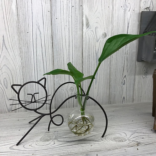 Hydroponic Home Décor - Cat One Pot Stand