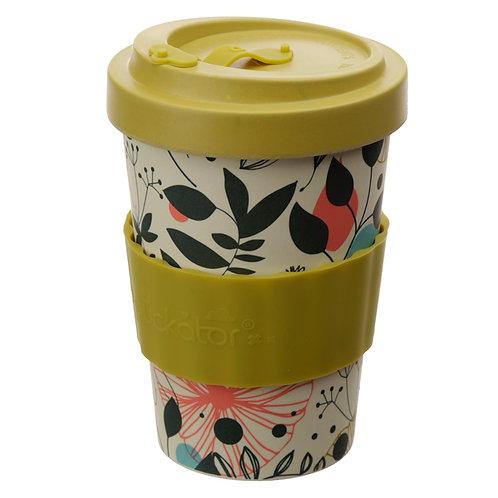 Bamboo Composite Wisewood Botanical Travel Mug