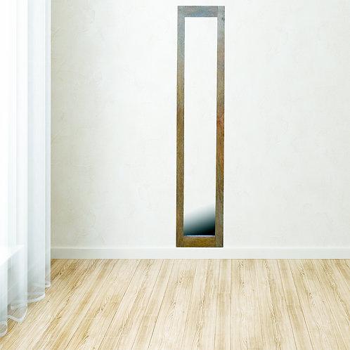 Solid Wood Framed Mirror