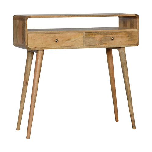 Nordic Style Solid Wood Console Table