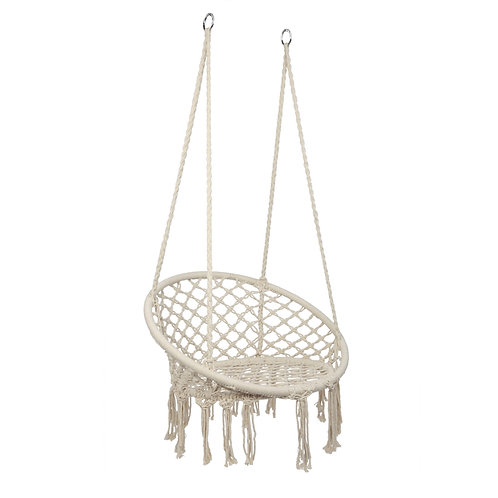 Round Hanging Rope Chair