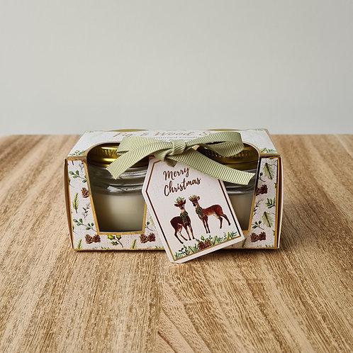Fig & Wood Sage Mini Candle Pot Gift Set