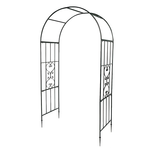 Wrought Iron Plant Climbing Frame Arch
