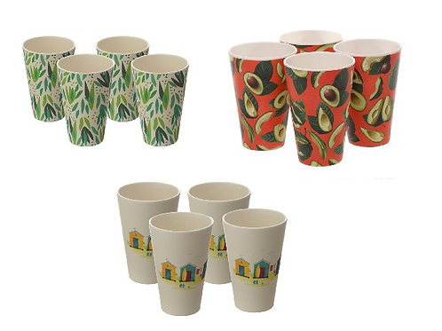 Bamboo Composite Set of 4 Cups