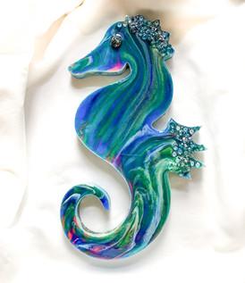 """10"""" Diva Seahorse"""