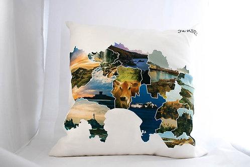 'The Parishes' Cushion
