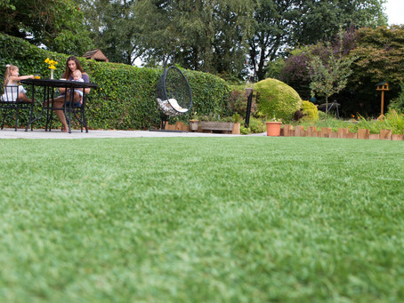 Benefits of having artificial grass installed in your garden