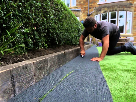 How to install your artificial lawn
