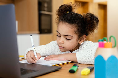 little-girl-at-home-during-online-school