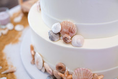 Seashell Wedding Cake