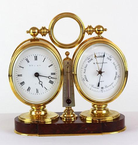 Compendium Desk Clock circa. 1880