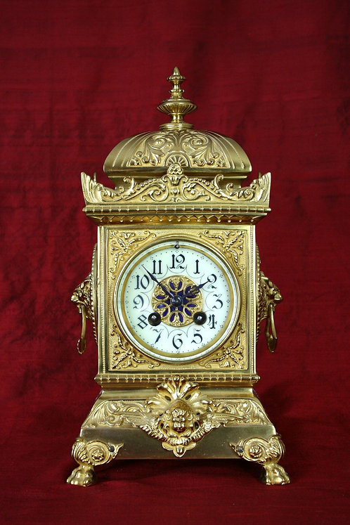 French Table Clock, circa 1885