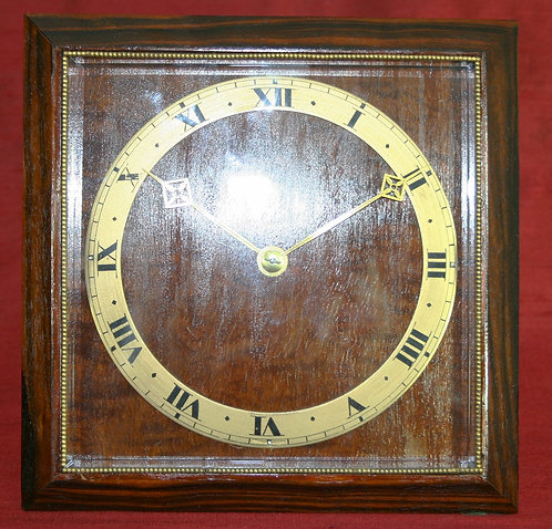 English Art Deco Strut Clock