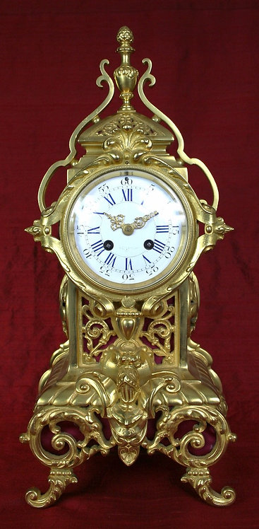 French Table Clock circa 1880