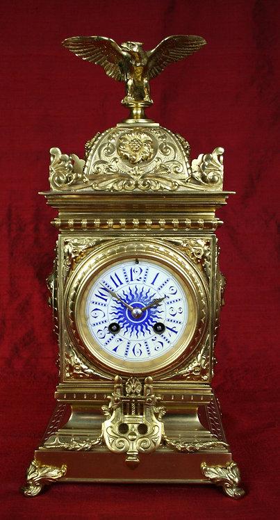 French Table Clock circa 1880
