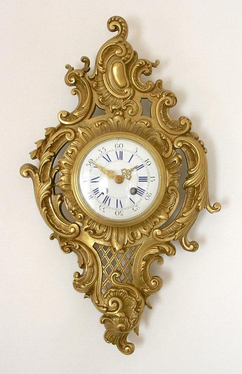 French Cartel Clock circa. 1860