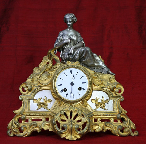 French Mantel Clock circa 1830