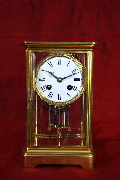 French Four Glass Parisian Regulator Clock
