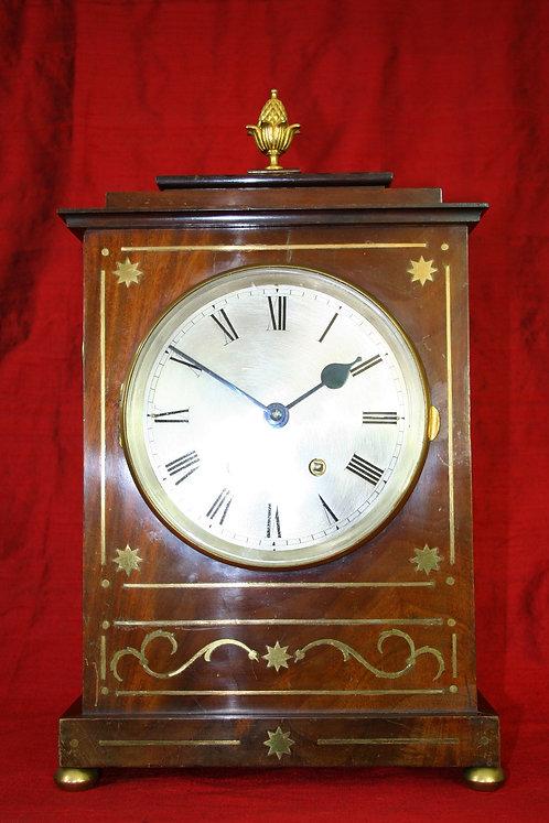 French Mahogany Bracket Clock