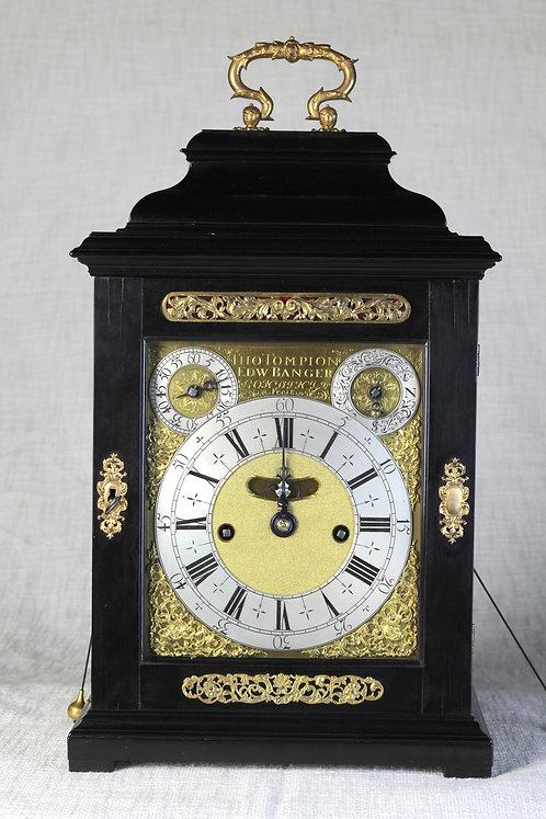 Tompion and Banger Bracket Clock circa. 1705