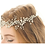 Thumbnail: Leaf Simulated Pearl Hairband