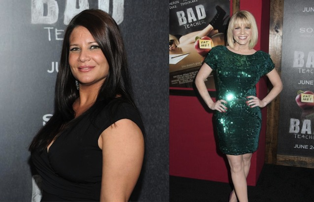 Karen Gravano and Carrie Keagan
