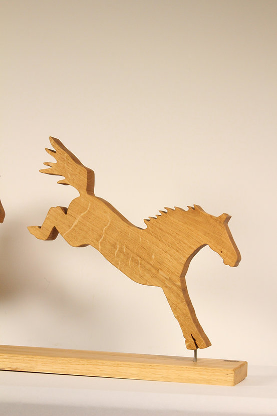 Chevaux en bois morbihan