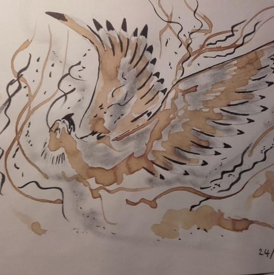 La mort du phoenix, de la chair à la cen
