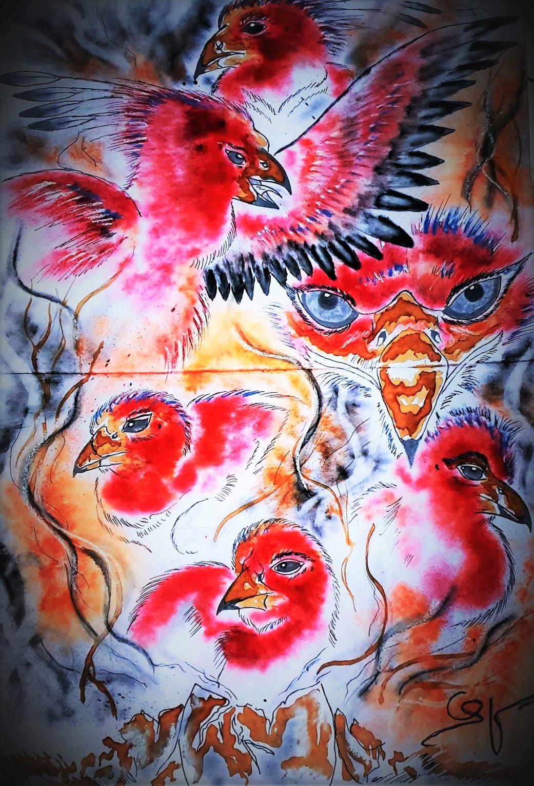 Phoenix version street art