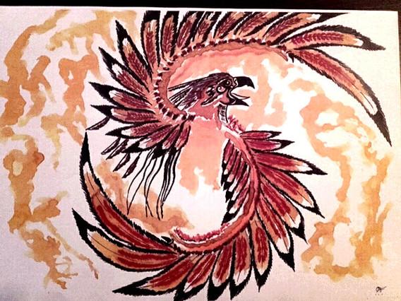 Le totem du phoenix