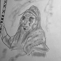 Femme celte