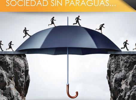Gato al agua, sociedad sin paraguas...