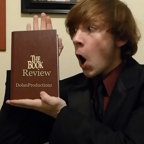 "The thumbnail from my first ""The Book Review"" about Christmas."