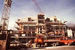 Neubau Backstube 1987