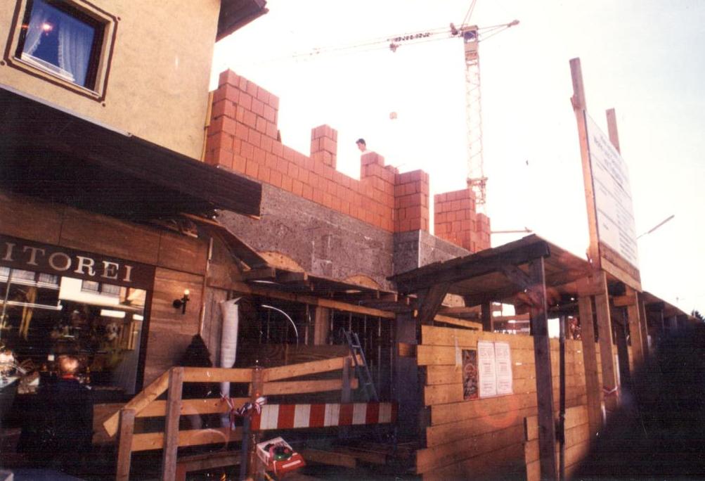 Neubau Laden 1988