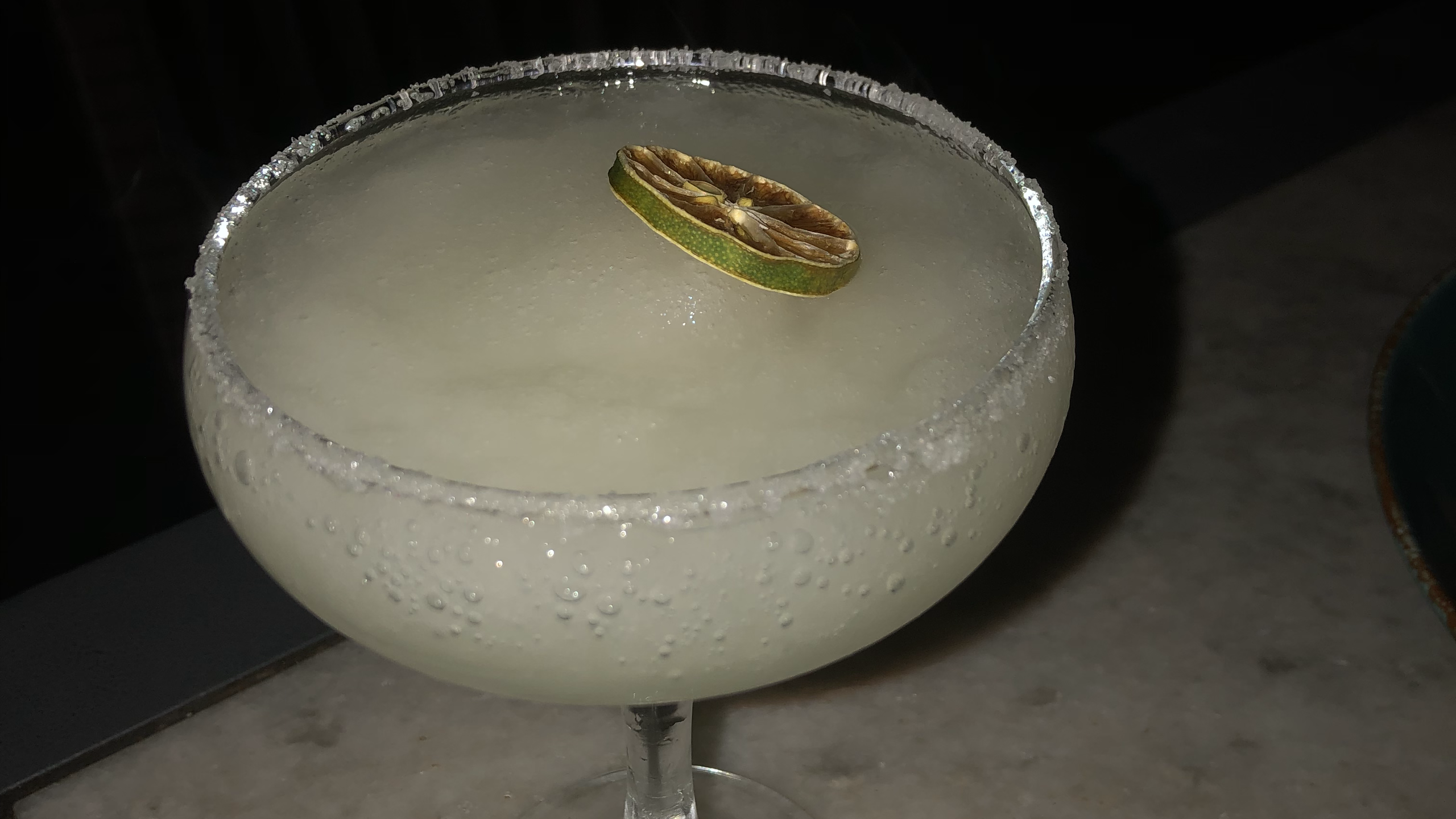 Frozen Margarita (Tequila based cocktail)