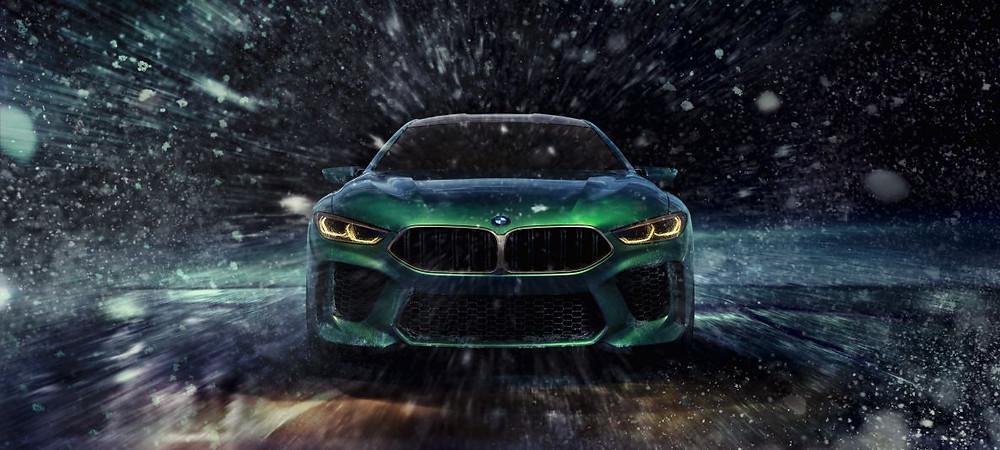 BMW M8 Gran Coupe Wallpaper
