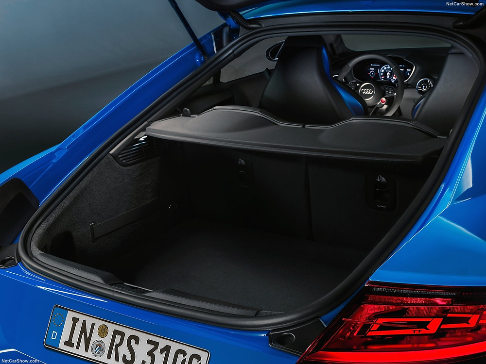 Spacious Trunk of Audi TT