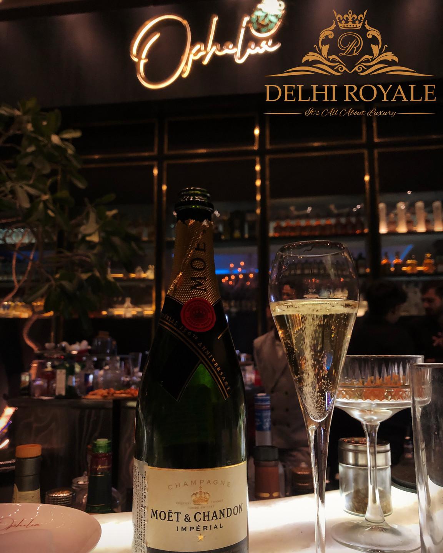Champagne At Ophelia Delhi