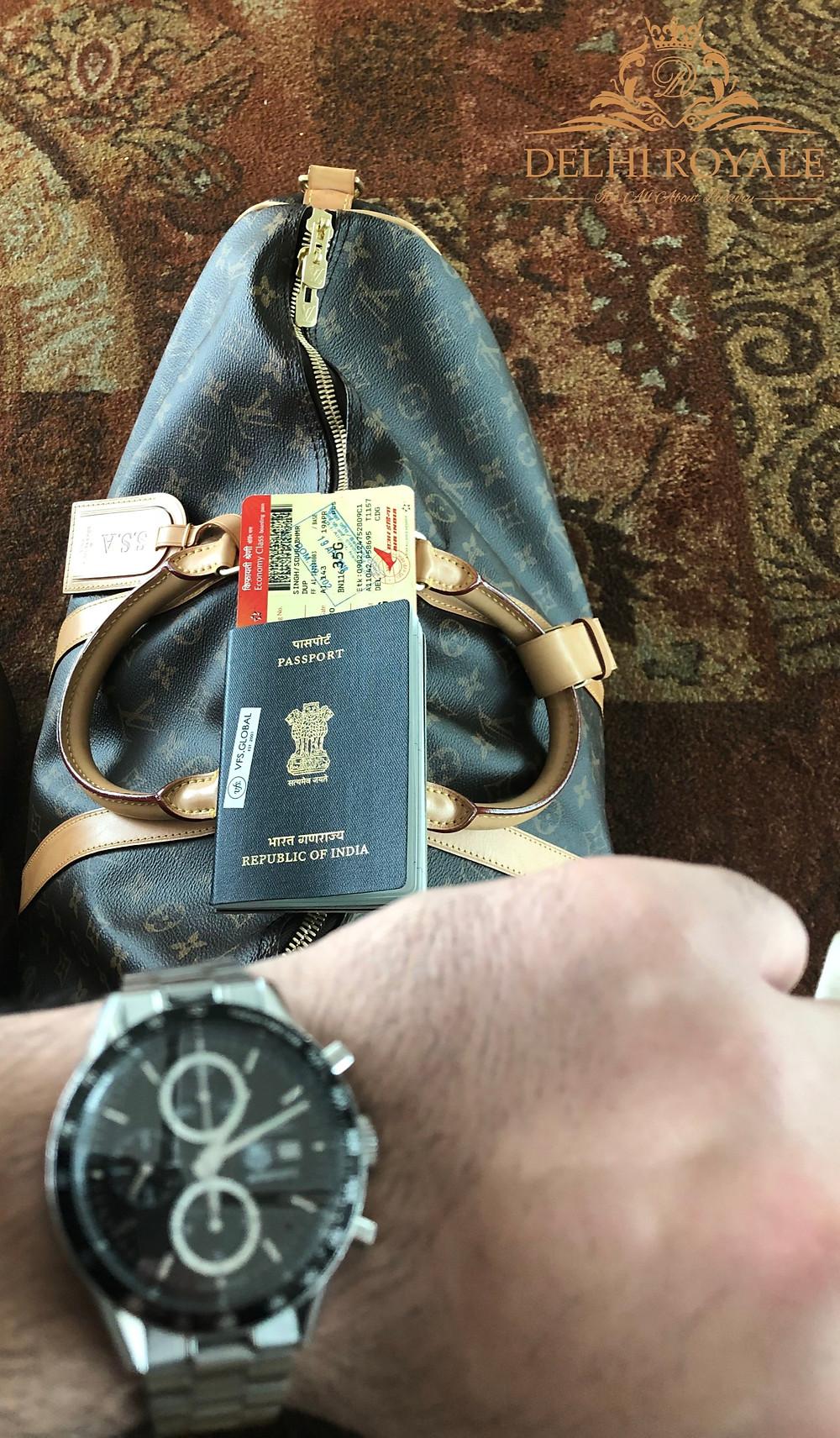 Louis Vuitton Keepall Bandoulière 55 luxury travelduffel bag