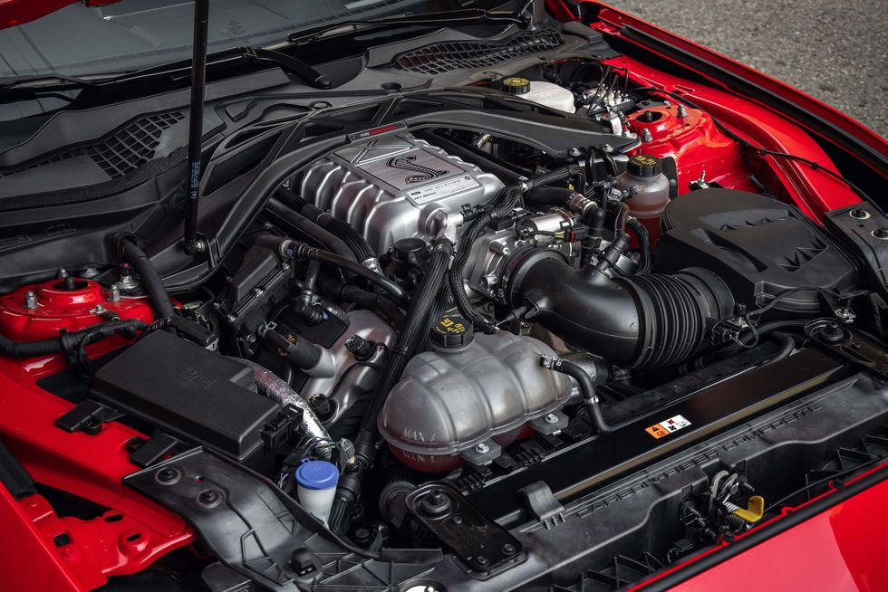 supercharged 5.2-liter V-8 with 760 horsepower and 625 pound-feet of torque