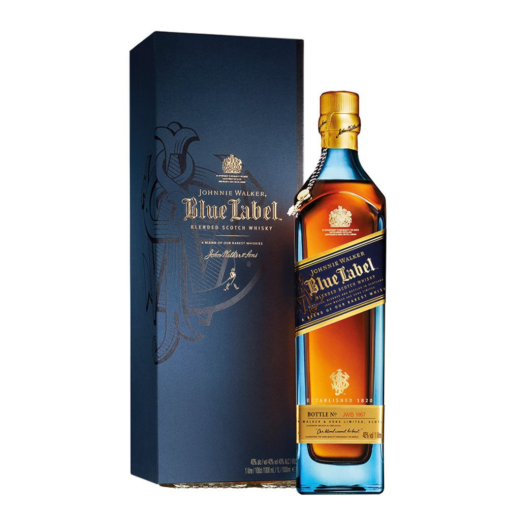 Johnnie Walker Blue Label is a gem that is unmatched.