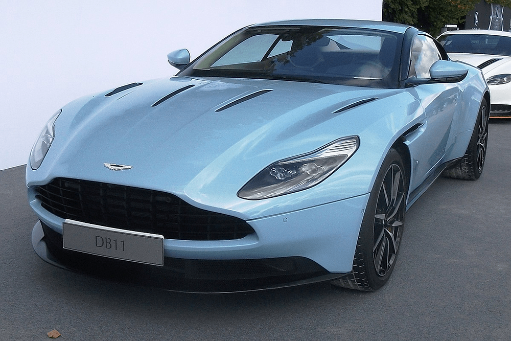 James Bond was often observed with the Aston Martin cars