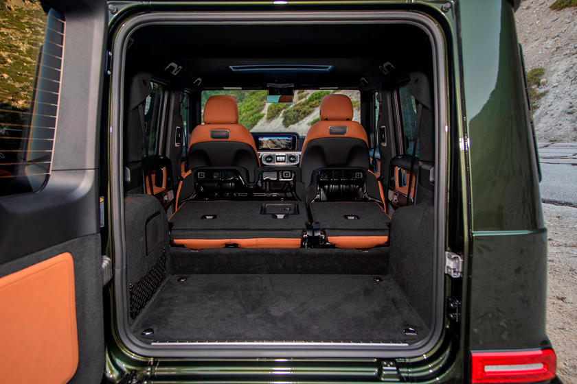 Mercedes G-Class Trunk Space